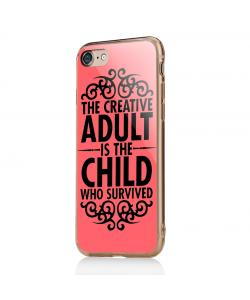 Creative Child - iPhone 7 / iPhone 8 Carcasa Transparenta Silicon