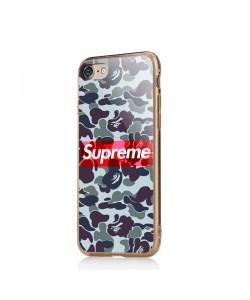 Supreme Camo - iPhone 6/6S Carcasa Transparenta silicon