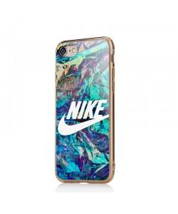 Glitchy Nike - iPhone 6/6S Carcasa Transparenta Silicon