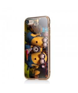 Party Minions - iPhone 6/6S Carcasa Transparenta Silicon