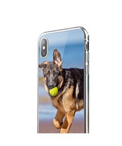 Personalizare - iPhone X Carcasa Transparenta Silicon
