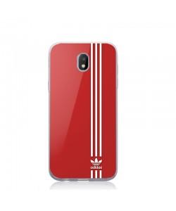 Red Adidas - Samsung Galaxy J5 2017 Carcasa Silicon