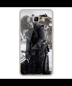 Jon Snow 2 - Samsung Galaxy J7 2017 Carcasa Transparenta Silicon