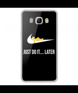 Just Do It Later - Samsung Galaxy J7 2017 Carcasa Transparenta Silicon