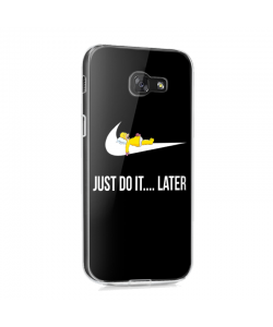 Just Do It Later - Samsung Galaxy A3 2017 Carcasa Silicon