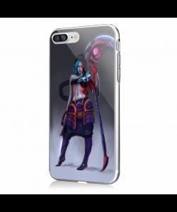 Kayn - iPhone 7 Plus / iPhone 8 Plus Carcasa Transparenta Silicon