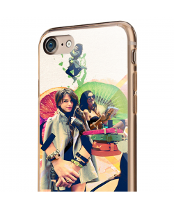 Kiwi, Crown and Good Shoes - iPhone 7 / iPhone 8 Carcasa Transparenta Silicon