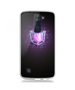 Clash Royale Legend - LG K8 2017 Carcasa Transparenta Silicon
