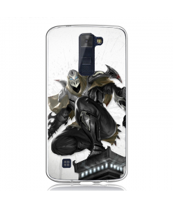 League of Legends Zed 4 - LG K8 2017 Carcasa Transparenta Silicon