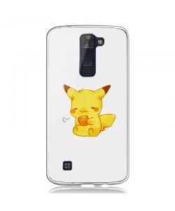 Pikachu - LG K8 Carcasa Transparenta Silicon