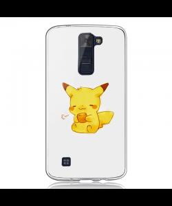 Pikachu - LG K8 2017 Carcasa Transparenta Silicon