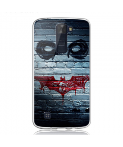 Batman/The Joker - LG K8 2017 Carcasa Transparenta Silicon