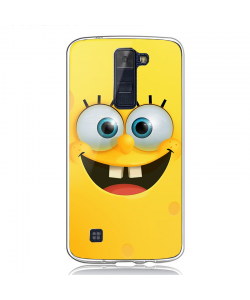 Spongebob - LG K8 Carcasa Transparenta Silicon