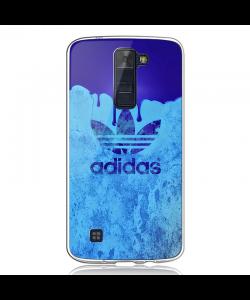 Dope Adidas - LG K8 Carcasa Transparenta Silicon