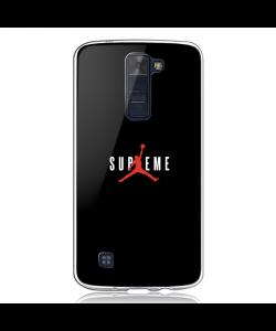Jordan Supreme - LG K8 2017 Carcasa Transparenta Silicon