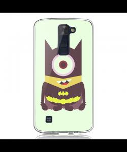 Minion Batman - LG K8 2017 Carcasa Transparenta Silicon