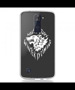 GoT House Stark - LG K8 Carcasa Transparenta Silicon