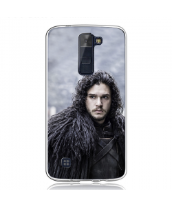 GoT Jon Snow - LG K8 2017 Carcasa Transparenta Silicon