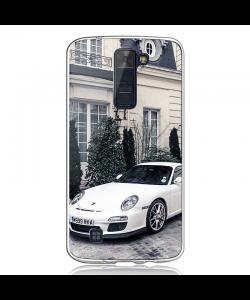 Porsche - LG K8 Carcasa Transparenta Silicon