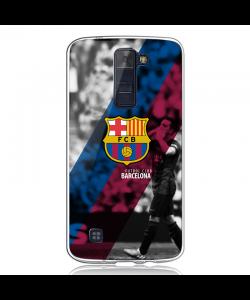 FC Barcelona 2 - LG K8 Carcasa Transparenta Silicon