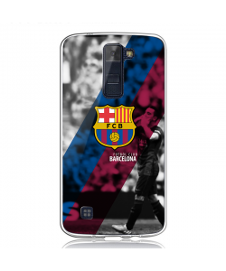 FC Barcelona 2 - LG K8 2017 Carcasa Transparenta Silicon