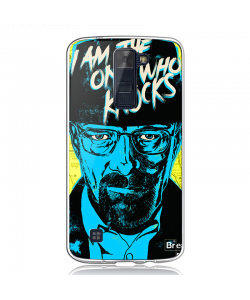 Breaking Bad - LG K8 Carcasa Transparenta Silicon