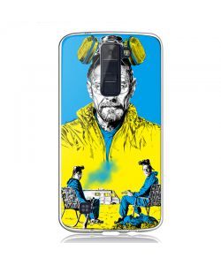 Breaking Bad III - LG K8 Carcasa Transparenta Silicon