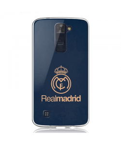Real Madrid - LG K8 Carcasa Transparenta Silicon