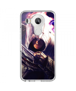Assasin's Creed Altair - LG Nexus 5X Carcasa Transparenta Silicon