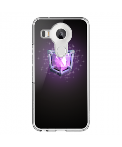 Clash Royale Legend - LG Nexus 5X Carcasa Transparenta Silicon