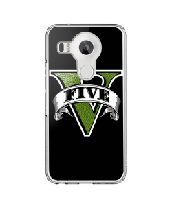 GTA V - LG Nexus 5X Carcasa Transparenta Silicon