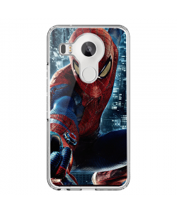 Spiderman 2 - LG Nexus 5X Carcasa Transparenta Silicon