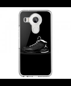 Air Jordan - LG Nexus 5X Carcasa Transparenta Silicon
