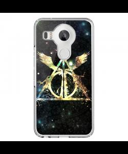 Deathly Hallows - LG Nexus 5X Carcasa Transparenta Silicon
