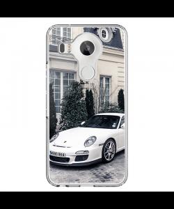 Porsche - LG Nexus 5X Carcasa Transparenta Silicon