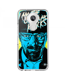 Breaking Bad II - LG Nexus 5X Carcasa Transparenta Silicon