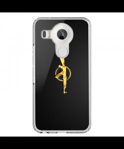 CS Go - LG Nexus 5X Carcasa Transparenta Silicon
