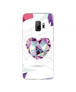 Love Keys - Samsung Galaxy S9 Carcasa Transparenta Silicon
