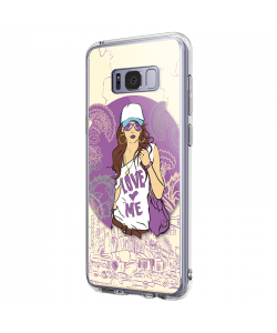 Love Me - Samsung Galaxy S8 Plus Carcasa Premium Silicon
