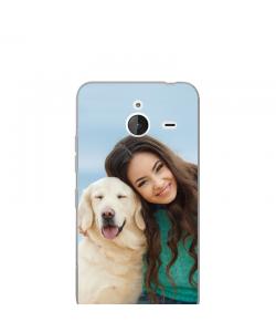Personalizare - Microsoft Lumia 640XL Carcasa Transparenta Silicon