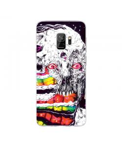 Melting - Samsung Galaxy S9 Carcasa Transparenta Silicon