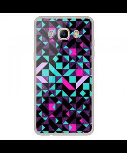 Mirror Effect - Samsung Galaxy J7 Carcasa Silicon Transparent
