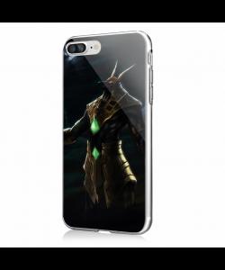 Nasus - iPhone 7 Plus / iPhone 8 Plus Carcasa Transparenta Silicon