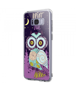 Night Owl - Samsung Galaxy S8 Plus Carcasa Premium Silicon