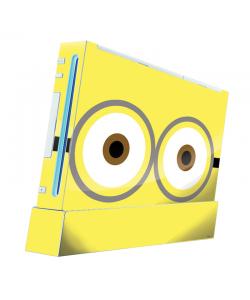 Minion Eyes - Nintendo Wii Consola Skin