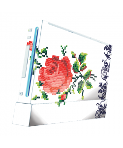 Red Rose - Nintendo Wii Consola Skin