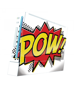 Pow - Nintendo Wii Consola Skin