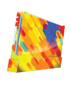 Ruby Slide - Nintendo Wii Consola Skin