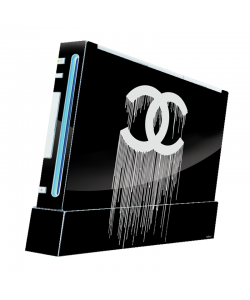 Chanel Drips - Nintendo Wii Consola Skin
