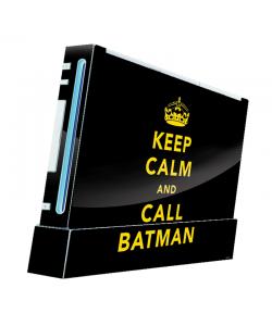 Keep Calm and Call Batman - Nintendo Wii Consola Skin